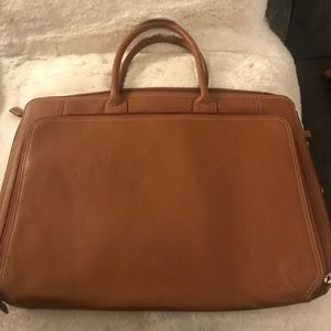 Levenger Leather Laptop Bag
